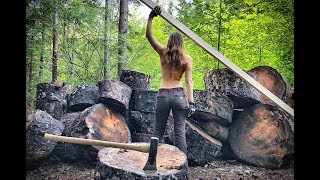 Girl in the Forest | Living Off Grid - A Day In My Life - Ep.37