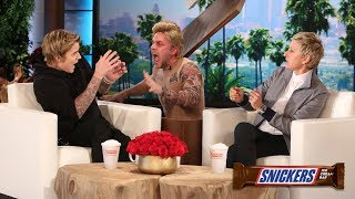 I Scream, You Scream, When Ellen Scares Nicki Minaj, Justin Bieber and More!