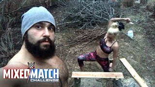 Lana undergoes intense board training en route to WWE Mixed Match Challenge
