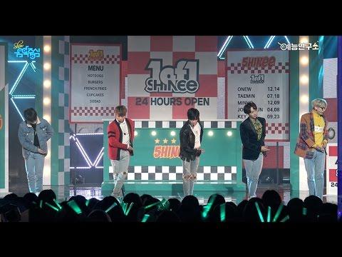 [예능연구소] 샤이니 원 오브 원 @쇼!음악중심_20161022 1 of 1 SHINee in 4K