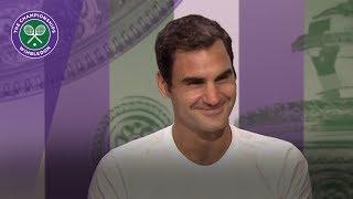 Roger Federer Wimbledon 2017 final press conference