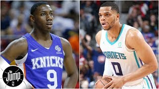 Knicks, Hornets, Cavs? Who won't match their preseason win total? | The Jump