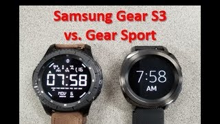Samsung Gear Sport vs Gear S3 - Review & Comparison - Which one should you buy?