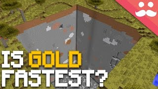 Minecraft: Are Gold Tools FASTER Than Diamond!?