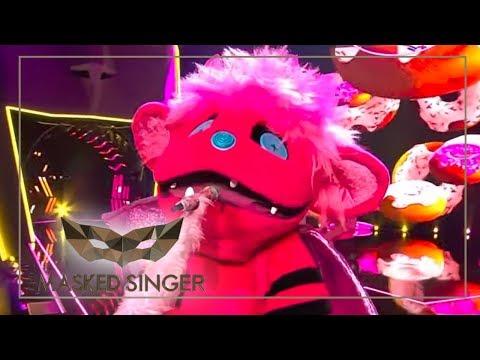 7 Rings -  Ariana Grande   Monster Performance   The Masked Singer   ProSieben