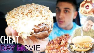 20,000 CALORIE CHEAT DAY MOVIE| SPECIAL DONUTS, BURGERS AND MORE!