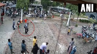 Sri Lanka: Another CCTV footage of suspected bomber enteri..