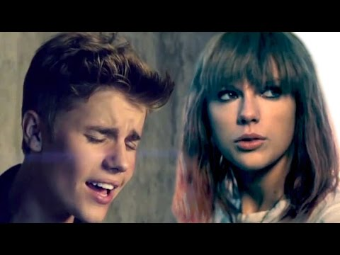 I Knew You Love Me - Mashup MV - Justin Bieber & Taylor Swift