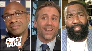 No one is on board with Max's LeBron vs.  Kawhi debate | First Take