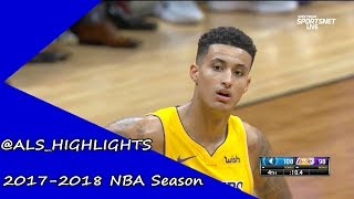 Kyle Kuzma Full Lakers Debut Highlights 2017.09.30 vs Timberwolves - 19 Pts, Soft Touch!