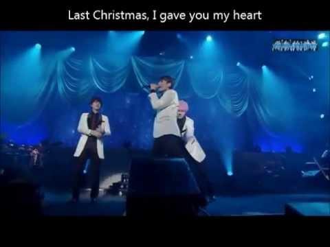 Super Junior KRY Silent night + Feliz navidad + Last christmas Special Winter Concert