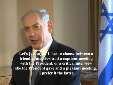 Gil Tamary interview with Israel's Prime Minister Benjamin Netanyahu