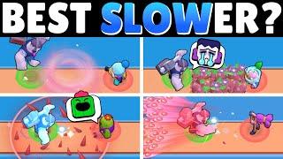 Brawl OLYMPICS!   Who Slows BEST?!
