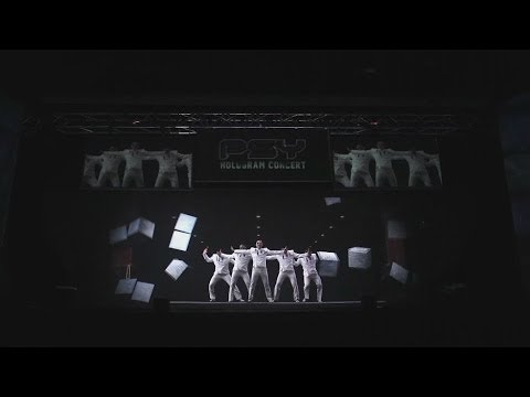 YG HOLOGRAM SHOW - PSY Highlights - officialpsy  - roGhaKywysU -