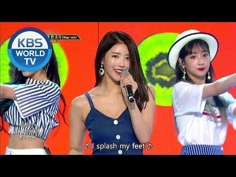 Lovelyz- Wag-zak | 러블리즈 - 여름 한 조각 [Music Bank COMEBACK / 2018.06.29]