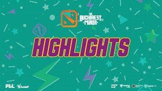 The Bucharest Minor Highlights BOOM ID vs TEAM TEAM Day 1 Playoffs