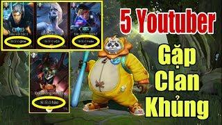 [Gcaothu] Lật kèo vất vả giữa 5 youtuber đối đầu với clan khủng - Đau tim đến phút cuối