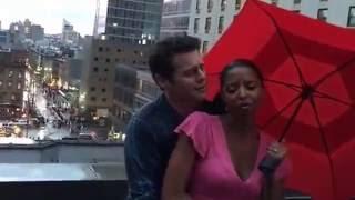 Digital #Ham4Ham A Romantic Rooftop Duet with Groffsauce & Renee Elise Goldsberry