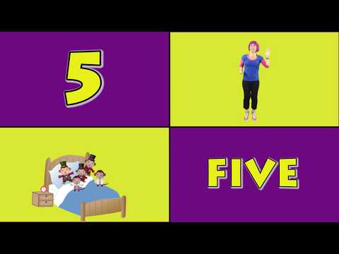 Five Little Monkeys Jumping on the bed| Nursery Rhymes for Children | Surprise ending Debbie Doo