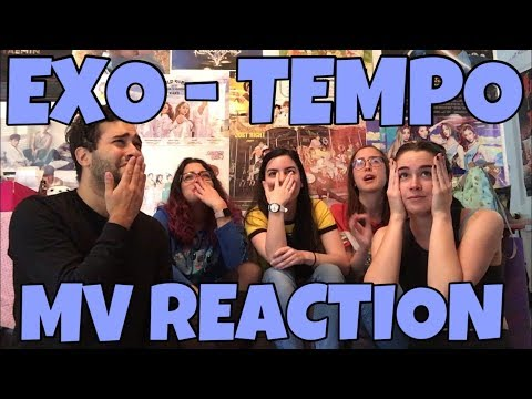 EXO (엑소) - Tempo (템포) MV Reaction [THIS WAS A WHOLE MEAL!]
