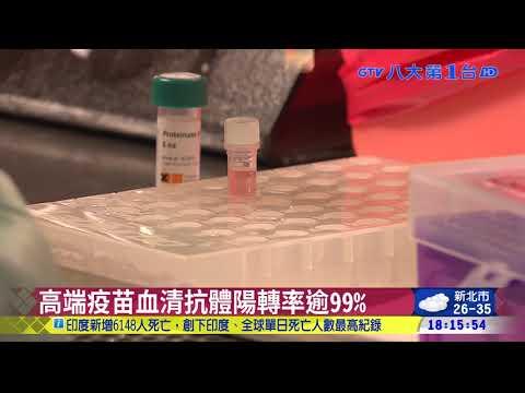 高端疫苗二期解盲成功  將申請EUA 八大民生新聞 2021061013