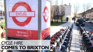 Cycle Hire Comes To Brixton
