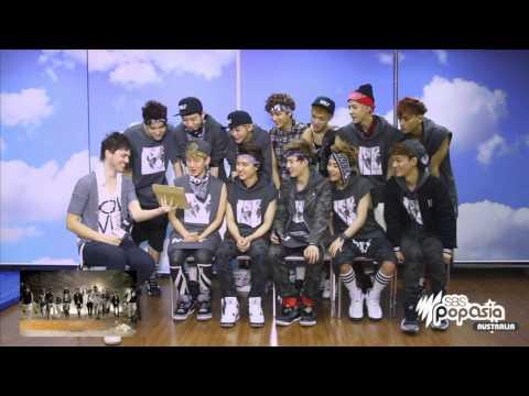 EXO Reacts to SBS PopAsia's EXO Rap