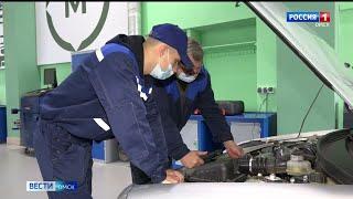 В Омском автотранспортном колледже открылись четыре новые мастерские по подготовке специалистов