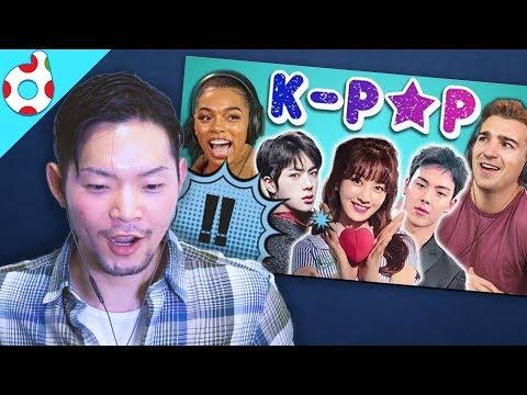 Koreans react to 'College kids react to K-POP' (FBE)