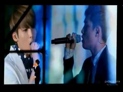 Ryeowook (Super Junior) shows his favouritism towards D.O ( EXO-K)