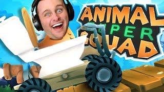 ANIMAL SUPER SQUAD!!