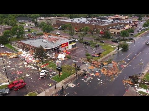 Tornado Sioux Falls 10th September 2019 HD 720p