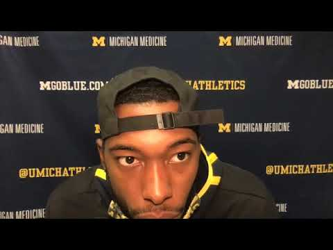 Hassan Haskins - Rutgers Postgame - Michigan Wolverines Football