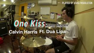 One Kiss - Calvin Harris and Dua Lipa (Drum Cover)