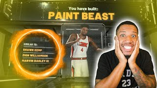 BEST ALL AROUND PF PAINT BEAST BUILD IN NBA 2K20!! UNSTOPPABLE!!