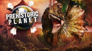 DINOSAURS AT THE GREAT WALL OF CHINA?! | Prehistoric Planet (Jurassic World: Evolution)