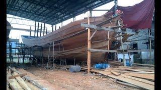 Xưởng Đóng Cặp Tàu 20 Tỷ Đánh Cá Hoàng Sa Tại Bến Thủy