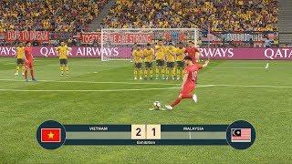 VIETNAM vs MALAYSIA - Giấc mơ Worldcup Qatar 2022 - PES19