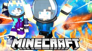 SAVING THE WORLD in Minecraft Find The Button!