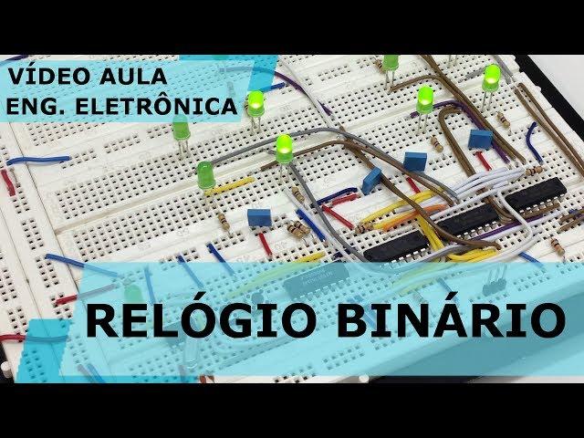 RELÓGIO BINÁRIO | Vídeo Aula #174