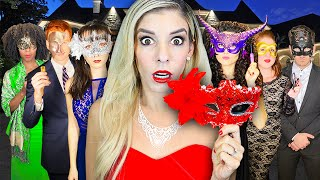 Giant MASQUERADE BALL at HACKER Mansion to Win $10,000! (Game Master Challenge) | Rebecca Zamolo