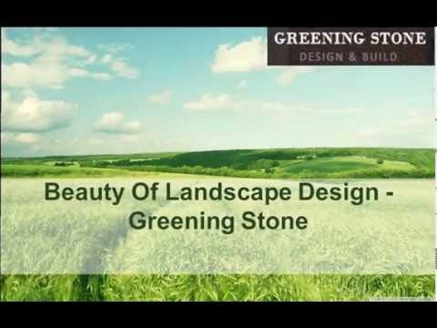 Beauty of Landscape Design - Greening Stone