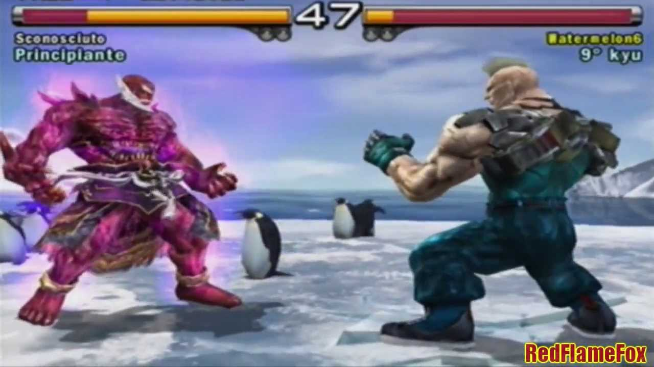 tekken 5 ps2 gameplay