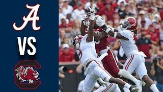 Week 3 2019 #2 Alabama vs South Carolina Full Game Highlights 9/14/2019