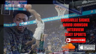 35KY Sports Show | Louisville Basketball Signee David Johnson Interview