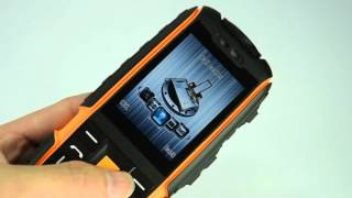 NO.1 A9 Rugged Phone Unboxing and Function show