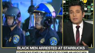 Two black men arrested from Starbucks for not buying anything at the shop