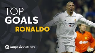TOP 25 GOALS Ronaldo en LaLiga Santander