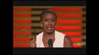 Uzo Aduba wins Emmy Award for Orange Is the New Black (2014)