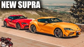 🐒 ON THE ROAD WITH THE NEW TOYOTA SUPRA MK5!